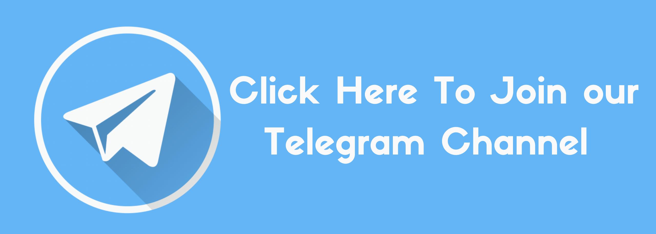 Telegram Channel Banner edited